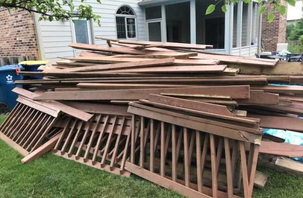 deck removal utah