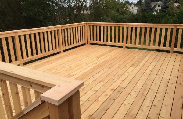 wood deck utah